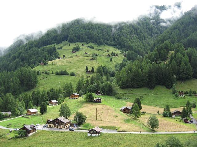 Svájci völgy és a hunok